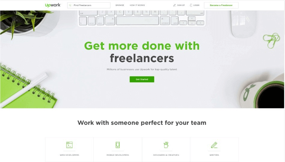 Upwork preview